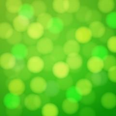 Green shiny bright background.
