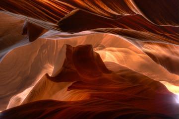 Slot canyon, Arizona, USA