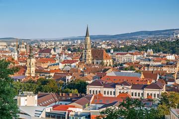 Panorama of Cluj-Napoca, Transylvania, Romania