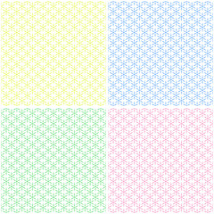 Set of seamless patterns.