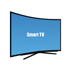 Smart curved television