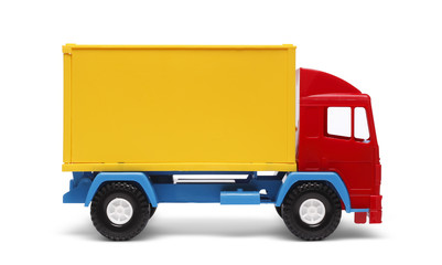 Colorful toy truck