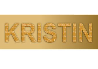 Vorname Kristin, Grafik