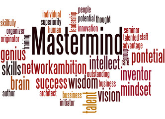 Mastermind, word cloud concept 6