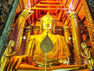 the golden buddha image of thailand