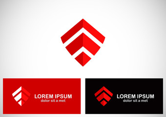 shape shield vector logo