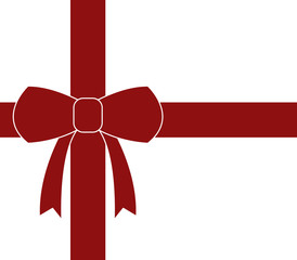 gift paper with ribbon
