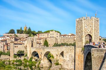 Besalu medieval village, Catalonia, Spain
