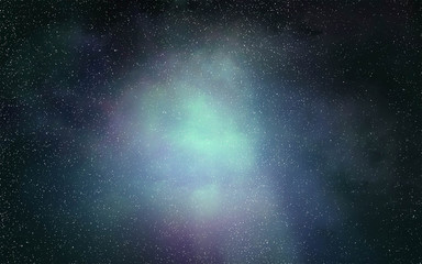 Starry galaxy nebula  background texture