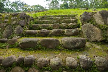 Guatemala life. Takalik Abaj Retalhuleu. Maya