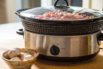 winter slow cooker meal