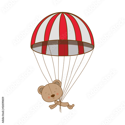 how to make a parachute for a teddy bear