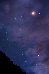 Night skyscape in Big Bend