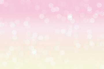Pastel bokeh background