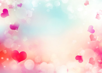 Valentine day holiday background illustration