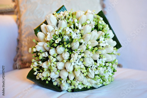 Bouquet Sposa Mughetto.Bouquet Sposa Mughetto Tulipani Stock Photo And Royalty