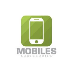 mobile phone concept logo icon