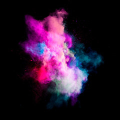 Colorful powders