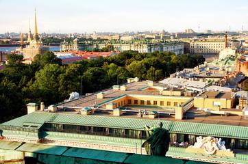 Russia. Saint - Petersburg - a beautiful city on the Neva River.