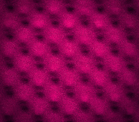 Pink Acoustic Foam Background