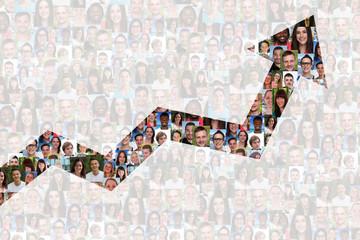 Erfolg Wirtschaft Wachstum erfolgreich Strategie Business Mensch