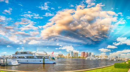 West Palm Beach Skyline - Florida