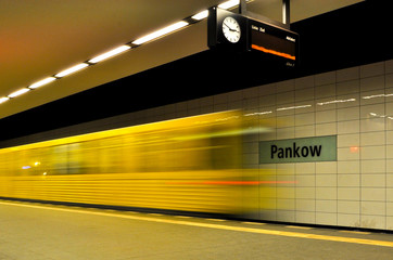 U-Bahn-Linie U2 - Station Pankow in Berlin