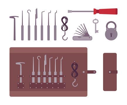 Set of lockpicks