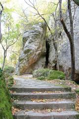 """Вход в пещеру в горах """"Мадара"""" (Болгария)"""