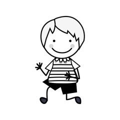 boy child icon image vector illustration design