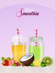 fresh smoothie