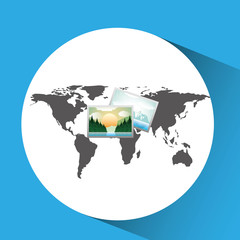 concept globe image photo social media vector illustration eps 10