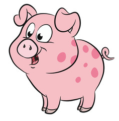 Niedliches Schweinchen