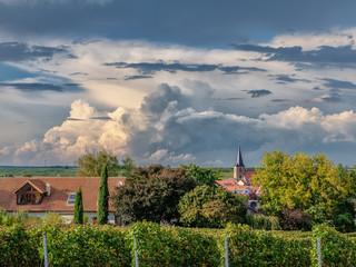Sommergewitter über Freinsheim