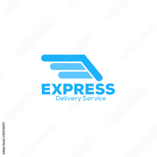 """delivery express logo icon"" Stock image and royalty-free ..."