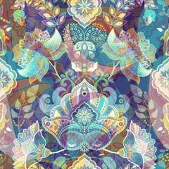 Light colorful seamless pattern