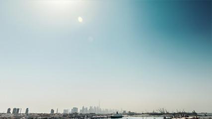 Panoramic view of Dubai, UAE