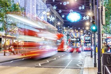 Christmas lights 2016 on Oxford street, London