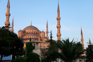 Early morning light on  Sultan Ahmet Camii