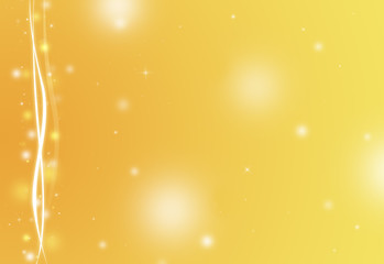 Gold glitter sparkle defocused rays lights bokeh abstract background.