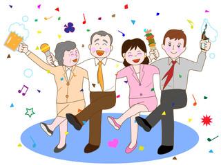 会社の宴会