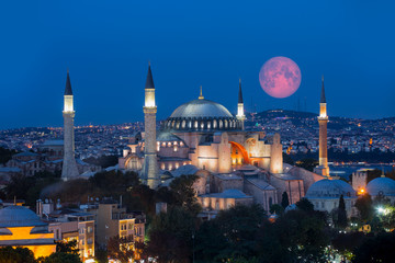 """Hagia Sophia Museum """"Elements of this image furnished by NASA """""""