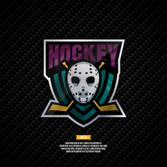 Hockey logo design.