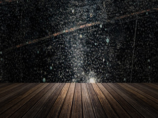 3D rendering of blank Wall Background