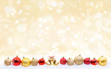 Weihnachten Kugeln