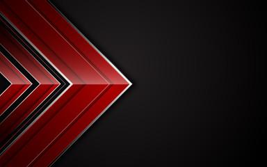 abstract arrow shape sharp modern tech sport design concept background layout