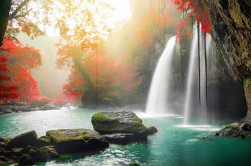 Obraz Heo Suwat Waterfall - fototapety do salonu