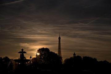 Sunset in Paris 5