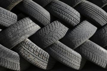Black tire rubber, vehicle part, spare part