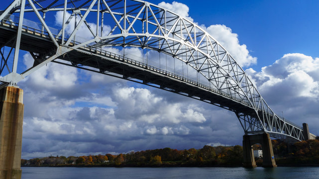 Sagamore Bridge over the Cape Cod Canal